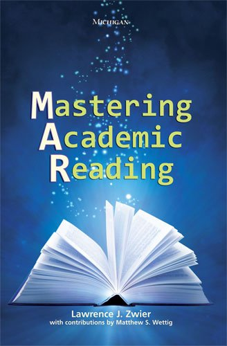 Mastering Academic Reading  N/A edition cover