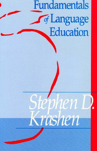 Fundamentals of Language Education: 1st 1992 edition cover