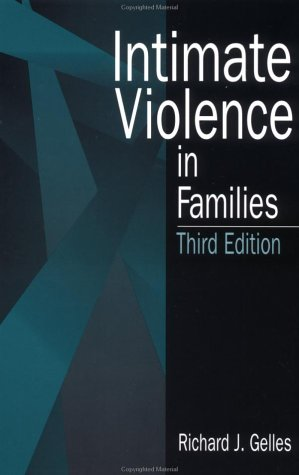 Intimate Violence in Families  3rd 1997 edition cover