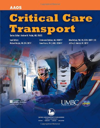 Critical Care Transport   2011 9780763712235 Front Cover