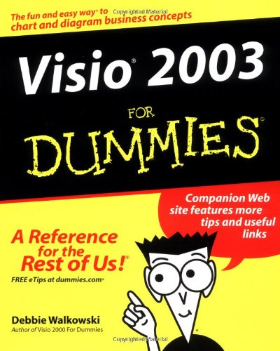 Visio 2003 for Dummies   2004 9780764559235 Front Cover