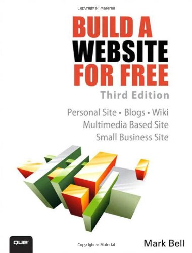 Build a Website for Free  3rd 2013 9780789750235 Front Cover