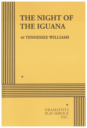 Night of the Iguana  N/A edition cover