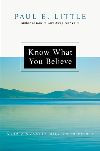 Know What You Believe   2008 edition cover