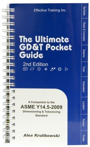 ULTIMATE GD+T POCKET GUIDE     N/A edition cover