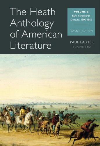 Heath Anthology of American Literature Volume B 7th 2014 edition cover