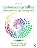 Contemporary Selling Building Relationships, Creating Value - 5th Edition 5th 2016 (Revised) 9781138951235 Front Cover