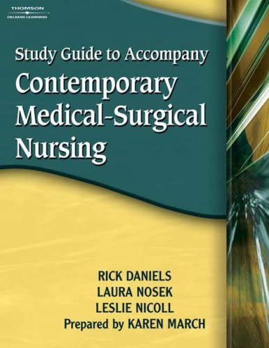 Contemporary Medical-Surgical Nursing   2007 (Guide (Pupil's)) 9781401837235 Front Cover