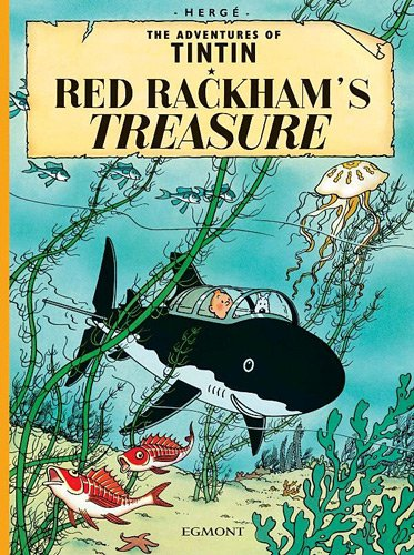 Red Rackham's Treasure:   2002 9781405206235 Front Cover