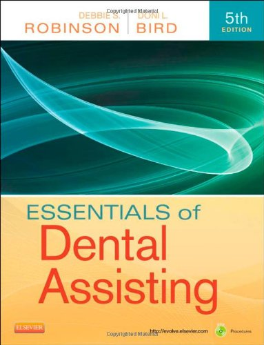 Essentials of Dental Assisting  5th 2013 edition cover
