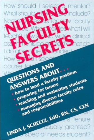 Nursing Faculty Secrets   2000 edition cover