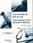 Consumer Health Information Source Book  6th 2000 edition cover
