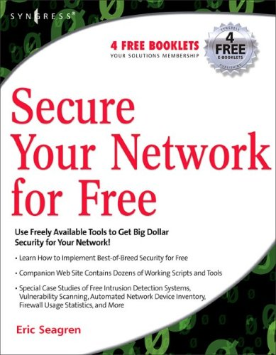 Secure Your Network for Free   2006 edition cover