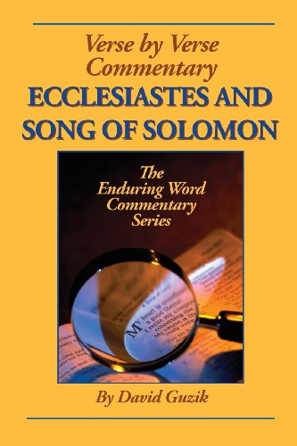 Ecclesiastes and Song of Solomon   2013 9781939466235 Front Cover
