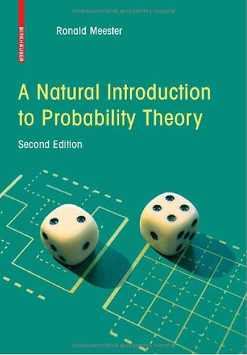 Natural Introduction to Probability Theory  2nd 2008 edition cover