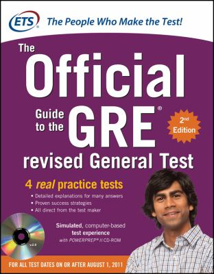 Official Guide to the GRE  2nd 2013 (Revised) 9780071791236 Front Cover