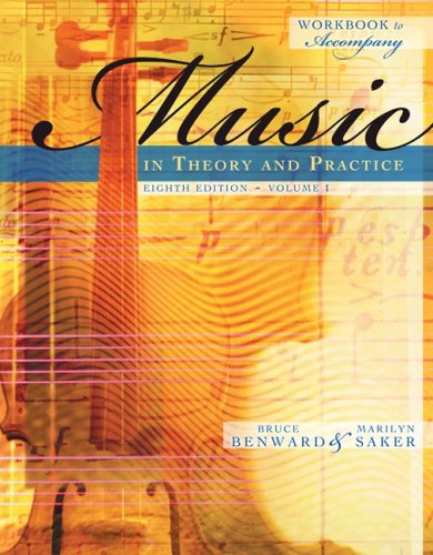 Music in Theory and Practice  8th 2009 9780077294236 Front Cover