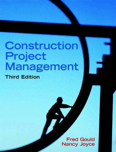 Construction Project Management  3rd 2009 9780131996236 Front Cover