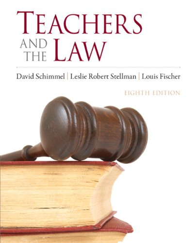Teachers and the Law  8th 2011 edition cover