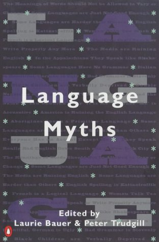 Language Myths   1998 edition cover