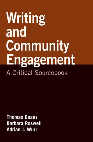 Writing and Community Engagement A Critical Sourcebook  2010 9780312562236 Front Cover