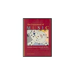 Enjoyment of Music 10e +DVD +CDx4   2007 edition cover