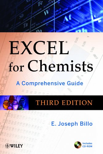 Excel for Chemists A Comprehensive Guide 3rd 2011 edition cover