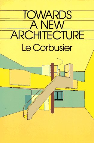 Towards a New Architecture  Reprint  edition cover