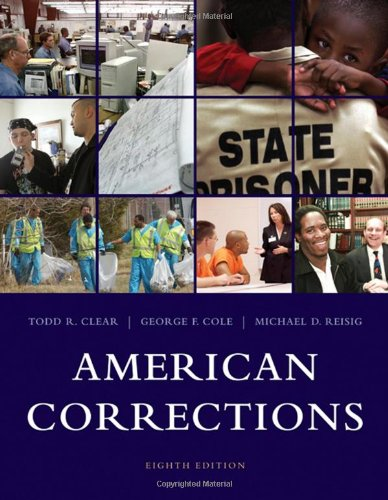 American Corrections  8th 2009 edition cover