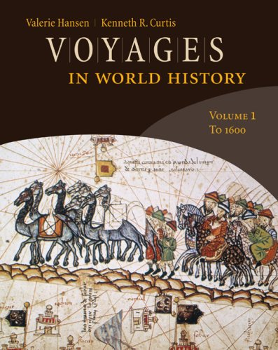 Voyages in World History - To 1600   2010 edition cover