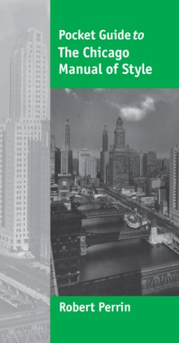 Chicago Manual of Style   2007 edition cover