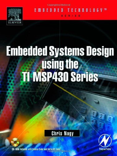 Embedded Systems Design Using the TI MSP430 Series   2003 9780750676236 Front Cover