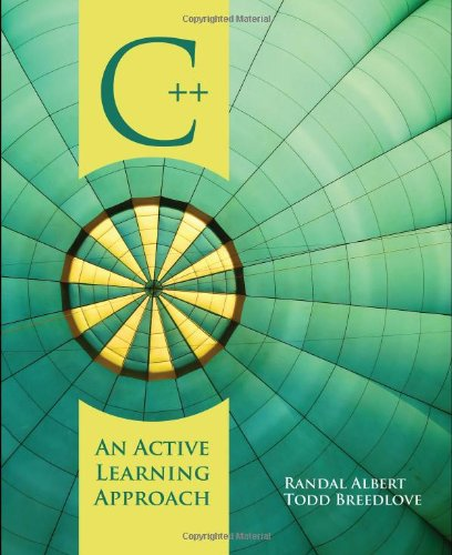 C++ An Active Learning Approach  2009 edition cover