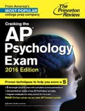 Cracking the AP Psychology Exam, 2016 Edition   2015 9780804126236 Front Cover