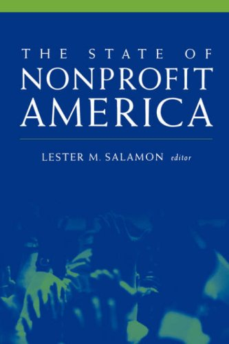 State of Nonprofit America   2003 edition cover
