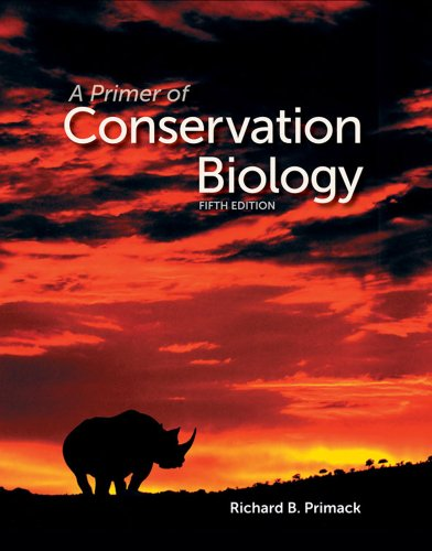 Primer of Conservation Biology  5th 2012 (Revised) edition cover