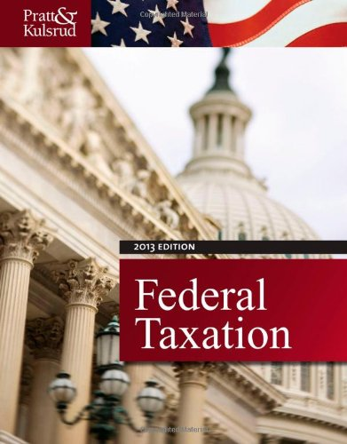 Federal Taxation 2013  7th 2013 9781133496236 Front Cover