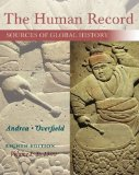 The Human Record: Sources of Global History: to 1500  2015 edition cover