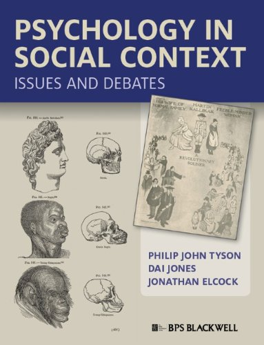 Psychology in Social Context Issues and Debates  2011 edition cover