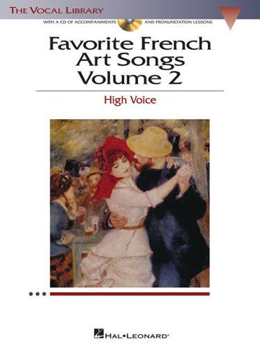 Favorite French Art Songs High Voice N/A edition cover
