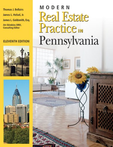 Modern Real Estate Practice in Pennslyvania 11th edition cover