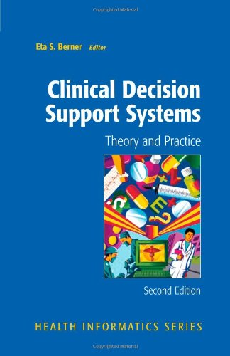 Clinical Decision Support Systems Theory and Practice 2nd 2007 edition cover