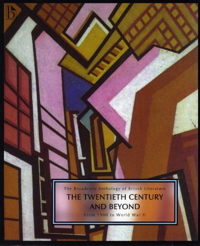 The Broadview Anthology of British Literature: From 1900 to World War II  2008 edition cover