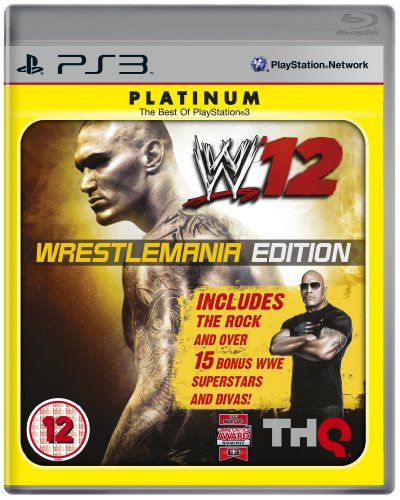 WWE 12: Wrestlemania Edition (PS3) PlayStation 3 artwork