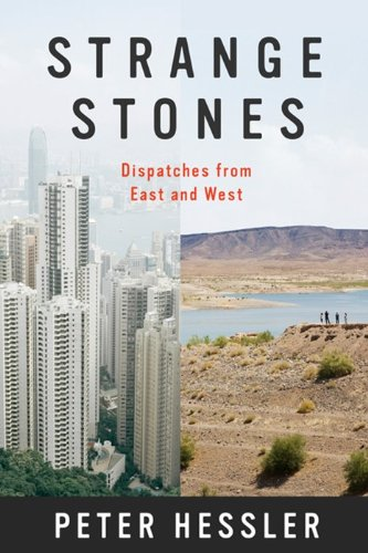 Strange Stones Dispatches from East and West  2013 edition cover