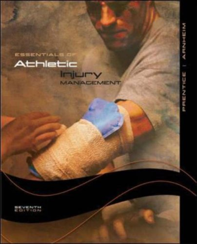 Essentials of Athletic Injury Management  7th 2008 (Revised) edition cover