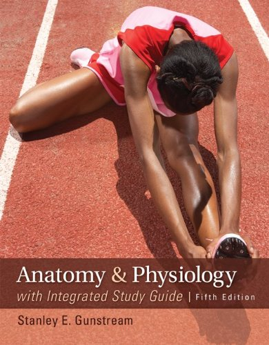 Anatomy and Physiology with Integrated Study Guide  5th 2013 edition cover
