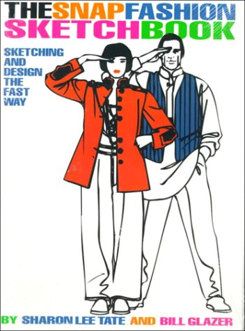 Snap Fashion Sketchbook   1995 9780130574237 Front Cover