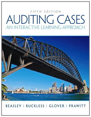 Auditing Cases An Interactive Learning Approach 5th 2012 (Revised) edition cover