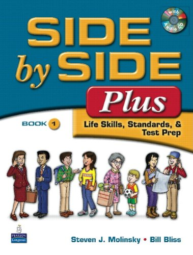 Value Pack Side by Side Plus 1 Student Book and Activity and Test Prep Workbook 1 3rd 2009 edition cover